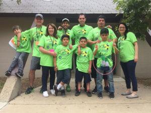 camp erin team photo