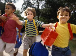 kids running image