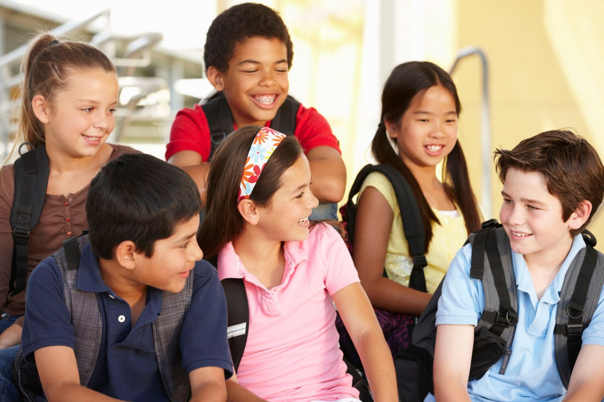 kids at school image