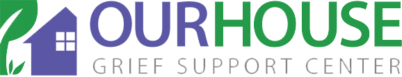 our house grief support center logo