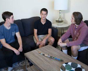Teenage boys image