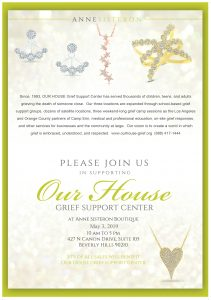 OUR HOUSE Ann Sisteron 2019 Jewelry Fundraiser