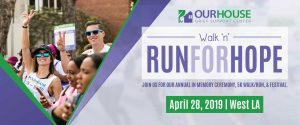 2019 Run For Hope Invitation