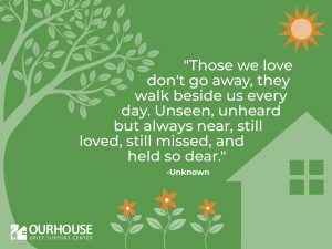 fathers day donation our house grief support