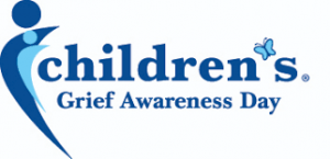 children grief awareness day logo