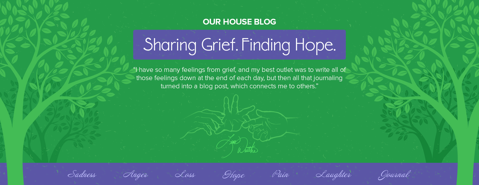 grief support blog