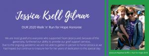 Honoring Jessica Krell