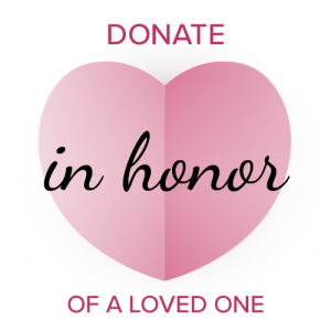 donate in honor of a loved one