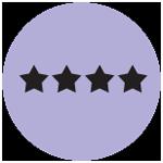 Four Stars Icon