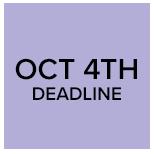 October 4th Deadline